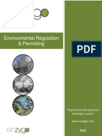 Environmental Regulation & Permitting
