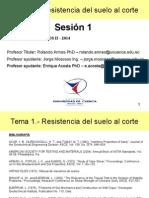 Tema 1 - Resistencia Del Suelo Al Corte