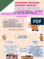 Defensa Civil en El Perú
