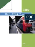 Relatório Transportes  - Rodrigo