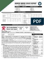 05.20.15 Mariners Minor League Report