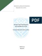 Proyecto de Investigacion Escolar Sobre Desempleo en El Adulto Gariatrico Librado