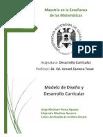 Elaboracion de Un Modelo de Diseño y Desarrollo Curricular 2