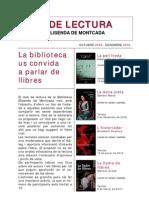 Club Lectura Biblioteca Elisenda de Montcada