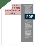 Sistema de Dirección Para Autos Tp