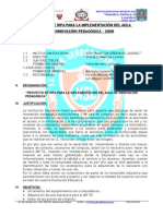 Proyecto Rifa AIPH 2078 2008
