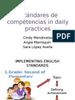 Estándares de competencias in daily practices.pptx