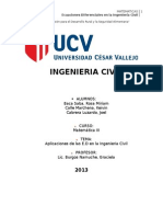 Trabajo de Aplicaciones de e.d en La Ingenieria Civil Parte 1