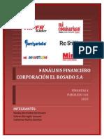 Corporación El Rosado Analisis Financiero Fiinal