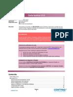 Carta Tecnica Contpaq i Factura Electronica 250