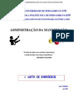 Lista Exercicio Adman Luis Cordeiro