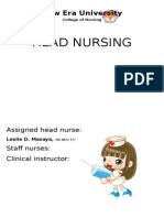 Head Nursing