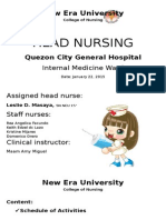 Head Nursing QCGH