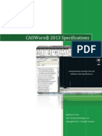 CADWorx_2013_Specificationsz