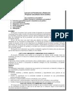 Manual Proyecto Comunitario Sociojuridico