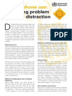 Distracted Driving Summary