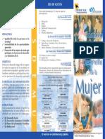 Politica Nacional de la Muujer en El Salvador.