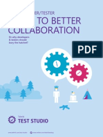 The Developer Tester Guide to Better Collaboration