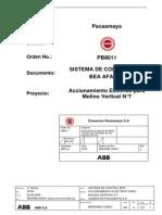 Sistema de Control MKS BEA AFAP 51 Accionamiento Eléctrico
