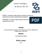Pasos Para Instalar Office2010, Projec 2010 y Visio 2010