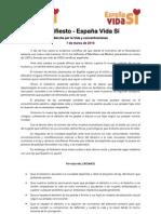 7M - Manifiesto España Vida Sí