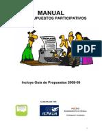Manual de presupuesto de  Sevilla