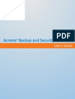 Acronis Backup & Security 2010 User Guide