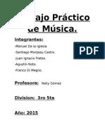 Trabajo Práctico de Música