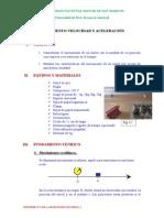 Informe Nº 4 Movimiento Velocidad y Aceleracion 12