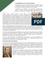 Movimientos de independencia en las colonias españolas.docx