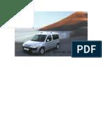 Manual de Usuario para Peugeot Partner año 2002 en Frances