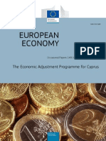 Cyprus - Economic Adjustment Programme