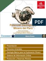 Potencial Geologico y Minero Del Peru