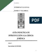 Guia Acad. Introducción a Las Ciencias Jurídicas
