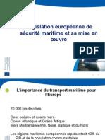 Législation Européenne sécurité maritime Jesùs BONET