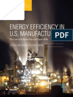 Energy Efficiency in Us Manufacturing Midwest Pulp and Paper 0