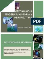 Biotecnología Moderna Historia y Perspectivas v Arahana