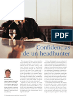 Confidencias de un Head Hunter