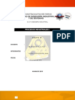 Proceso Industriales (industria del Hierro y Acero)