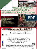 RAEE MINAM.ppt Ing. Ambiental