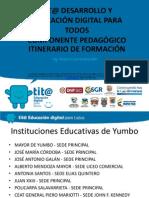Presentación Itinerario Pedagogico tit@ EDPT