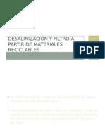 desalinización