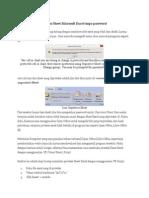 Cara Membuka Proteksi Sheet Microsoft Excel Tanpa Password