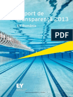Transparency Report Romania 2013 ROM