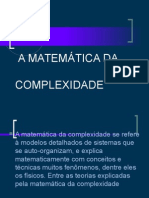 A matemática da Complexidade