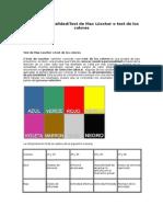 Test de Los Colores