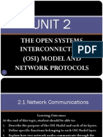Unit 2 - Osi Model and Network Protocols