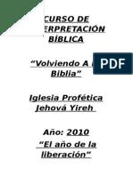 Curso de Interpretación Bíblica