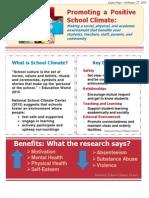 school climate handout