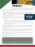 PHDWin Brochure